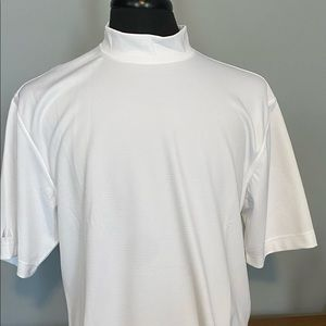 Men's mock neck golf shirt
